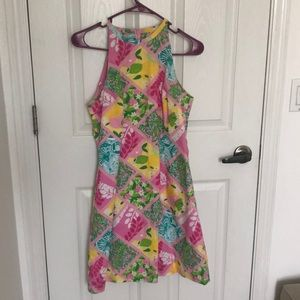 Lilly Pulitzer patch dress